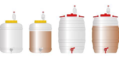 Teh Kotak Jumbo gambar vektor gratis wadah minum bir alkohol tong