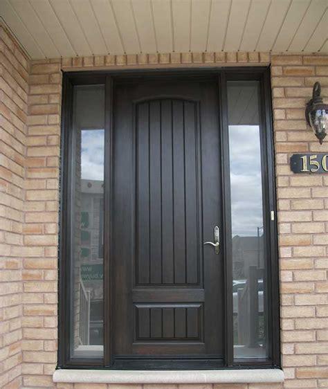 Exterior Side Entry Doors Front Entry Doors Fiberglass Doors Modern Doors Woodgrain