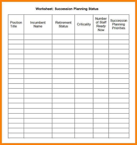 succession planning template 7 succession planning template introduction letter