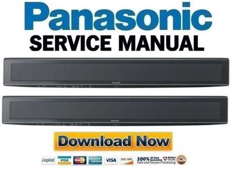 panasonic sc htb service manual repair guide
