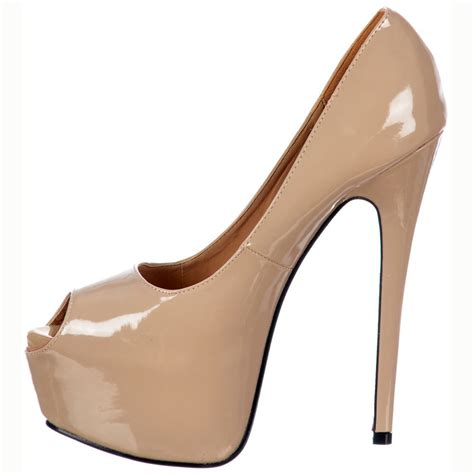 peep toe high heels onlineshoe peep toe stiletto concealed platform high heel