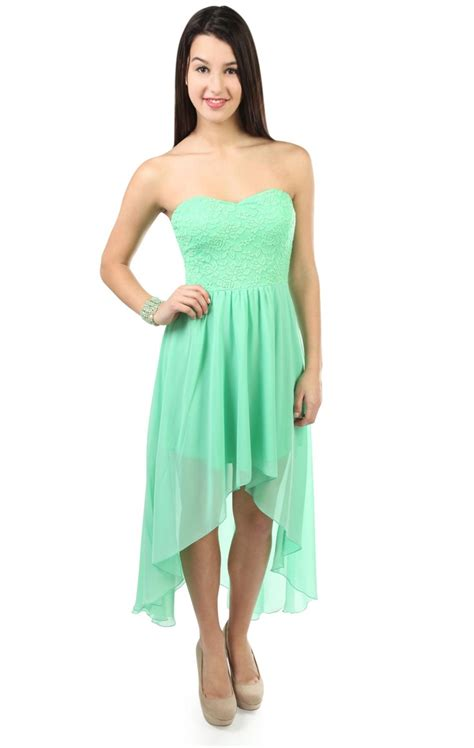 Lucia Dress Teracota Bd T1310 3 strapless lace high low dress formal