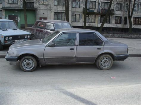Opel Ascona For Sale by 1988 Opel Ascona Pics 1 8 Gasoline Ff Manual For Sale