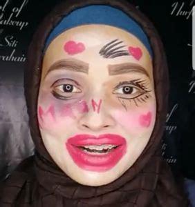 tutorial makeup hantu video kreatif wanita ini kongsikan tutorial live