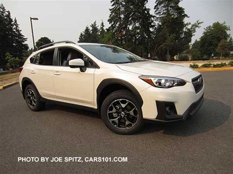 subaru crosstrek white 2018 2018 subaru crosstrek exterior photos