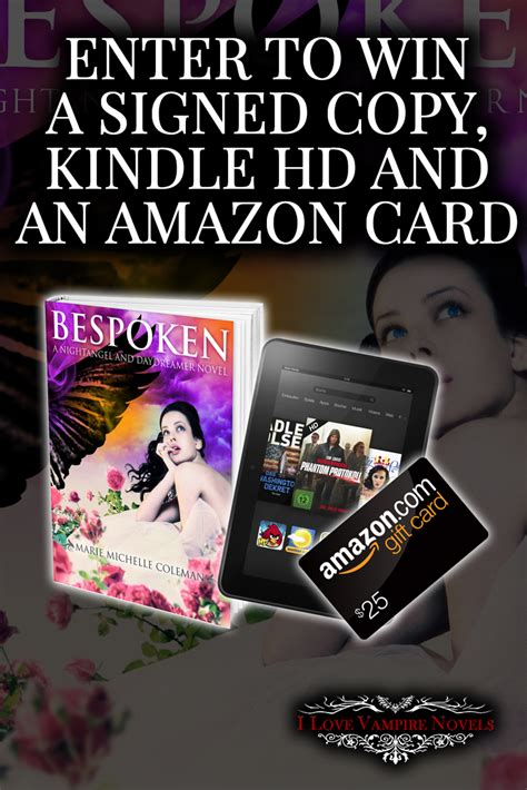 win a kindle 7 signed win a kindle 25 gift card and signed
