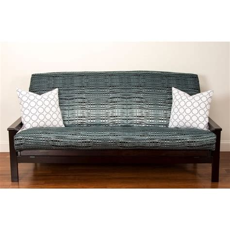 futon covers queen size interweave polyester queen size futon cover 14138713