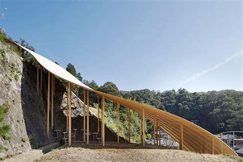ryue nishizawa ryue nishizawa nendo collaborate on small pavilion in kyoto