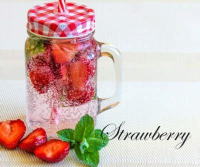 Cinnamon Strawberry Detox Water by 5 Diy Detox Water Recipes For Radiant Skin