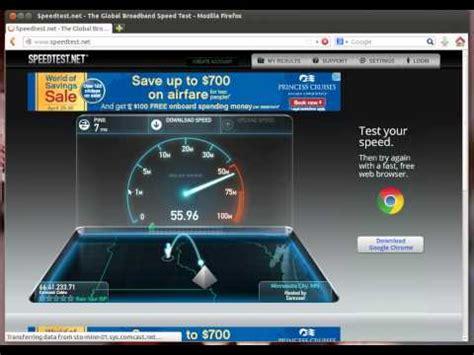 comcast  mbps extreme speed test doovi