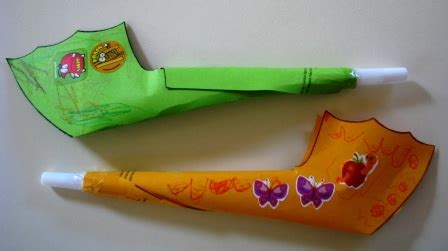 How To Make A Paper Trumpet That Plays - craft for joyful page 5