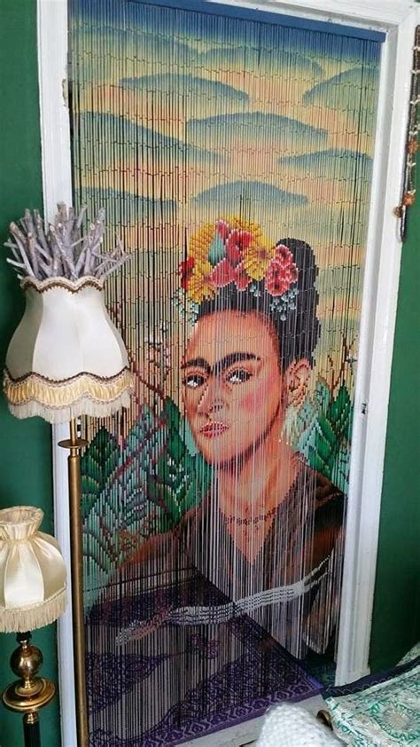 frida kahlo beaded curtain 1000 images about kitsch kitchen friends on pinterest