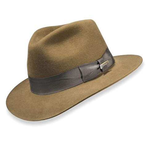 Fedora Hats genuine indiana jones fedora hat the green