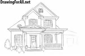 draw my house plans how to draw a house for beginners drawingforall net