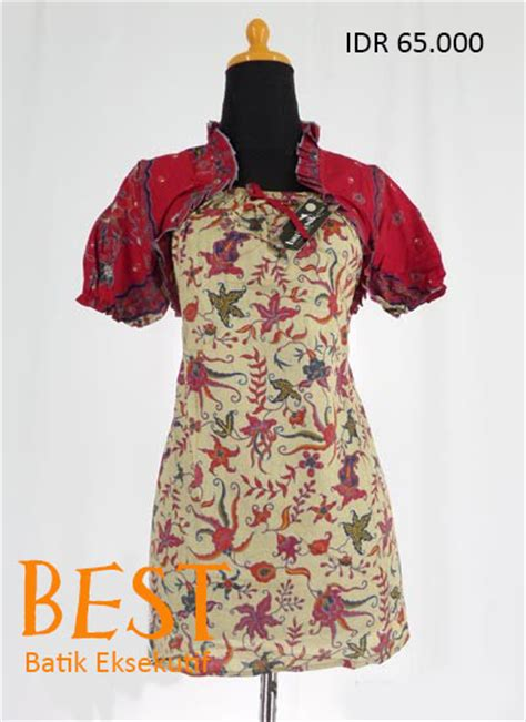 Blus Batik Rompi Fixed 1 best offer