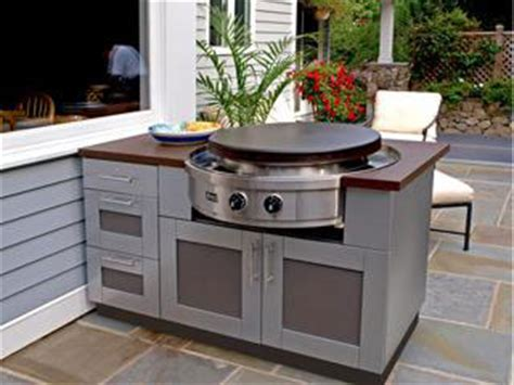 flat top bar and grill outdoor living northwest products cooking components and accessories