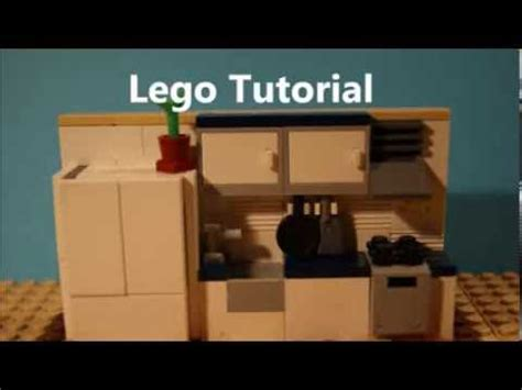 lego watch tutorial tutorial lego kitchen moc youtube