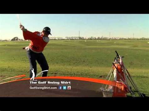 padraig harrington swing the golf swing shirt commercial featuring padraig
