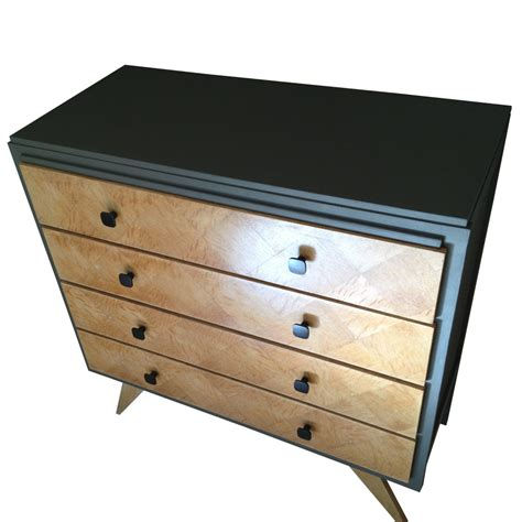 Commode Patinée Blanc by Commode Bois Et Metal Le Duhopfab With Commode