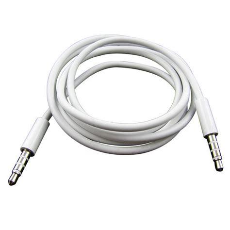 Kabel Audio 1 2 3meter kabel audio aux stereo 3 5mm hifi 1 meter untuk iphone 4 white jakartanotebook