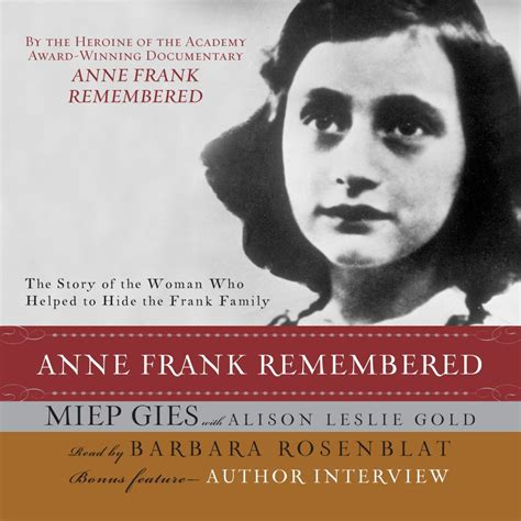 anne frank biography resume download anne frank remembered audiobook by miep gies for