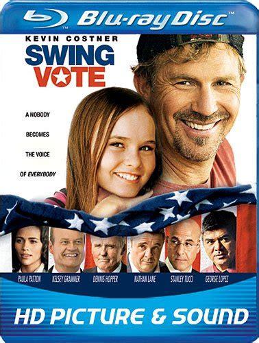 swing vote soundtrack swing vote 2008 dvd hd dvd fullscreen widescreen blu