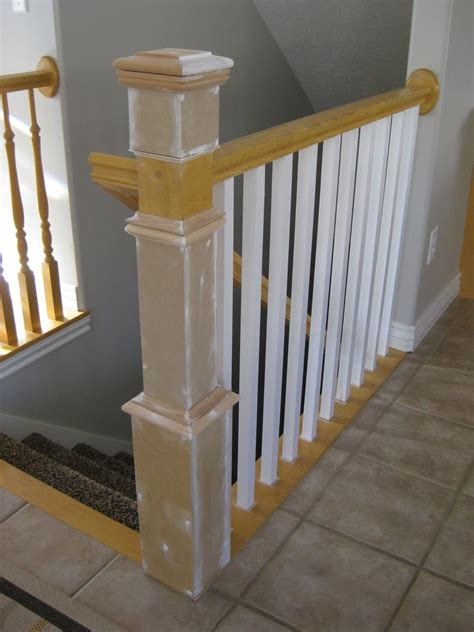 diy decorations stairs diy stair banister refacing and renovation tda decorating and design featured on