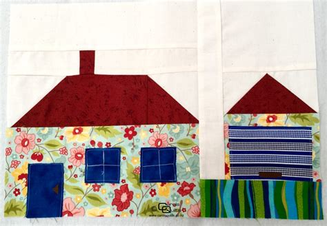 Patchwork House - patchwork house with garage carols quilts