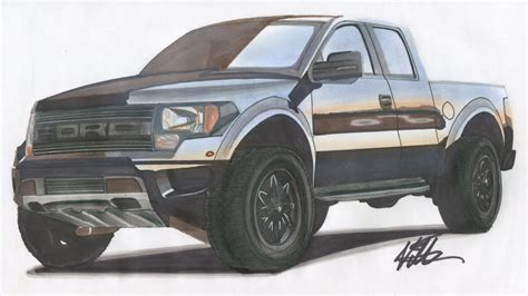 trucks drawings drawings of ford trucks pixshark com images