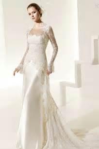 designer wedding gowns buy cheap spaghetti lace satin sheath chapel fabulous designer wedding dresses
