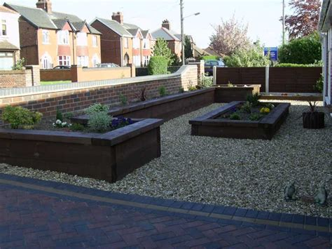 steve timmins s raised bed project with railway sleepers