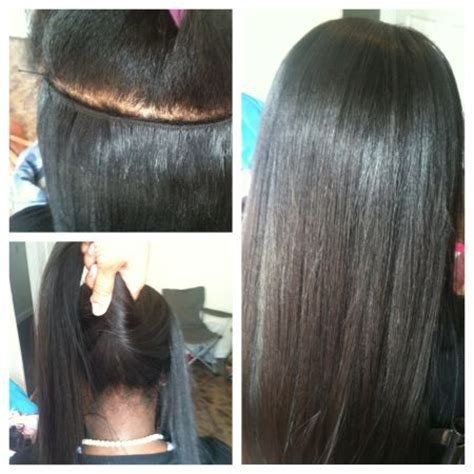 what hair is used for braidless sew in micro sew in weave for sale