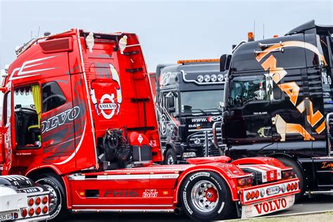 truck shows truck of europe at le mans race track hd