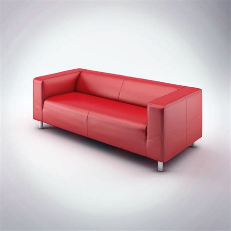 klippan sofa bed 3d leather sofa