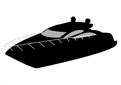 boat clipart silhouette boat clip art black and white image download