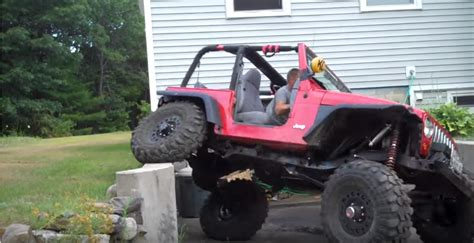 jeep jk rock crawler this jeep wrangler has more flex than a bendy straw jk forum