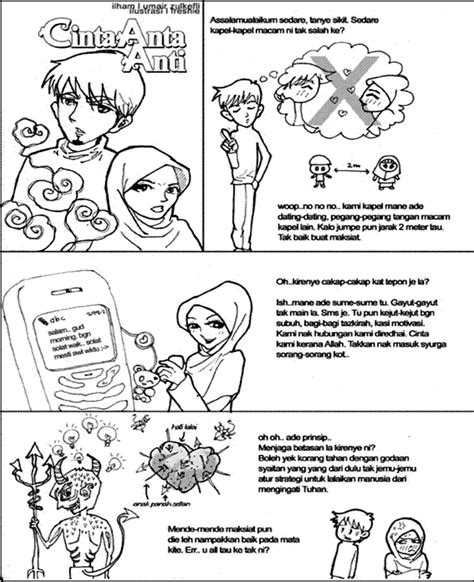 comment on this picture gambar kartun pasangan romantis muslim apps directories