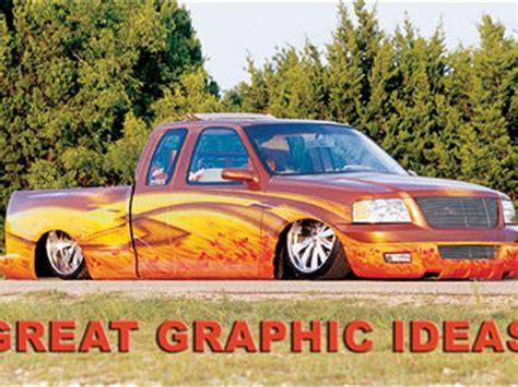 custom truck paint great graphic ideas sport truck magazine