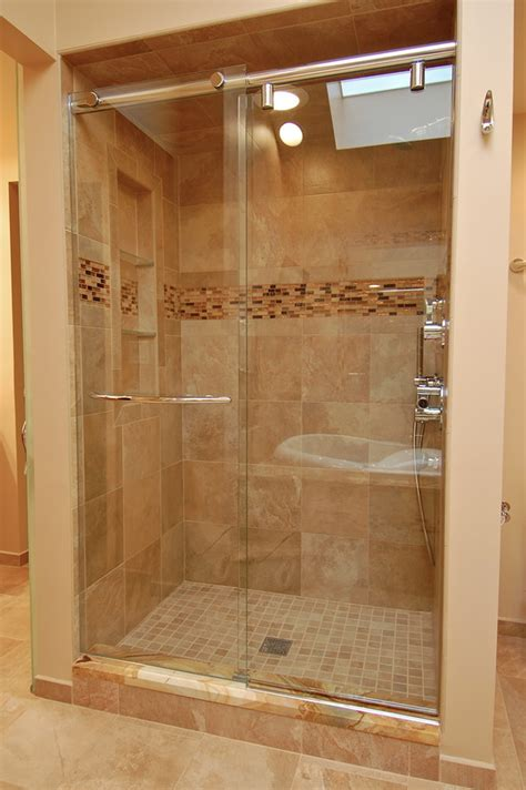 Sliding Glass Shower Door Installation Repair Maryland Md Bathroom Glass Sliding Shower Doors
