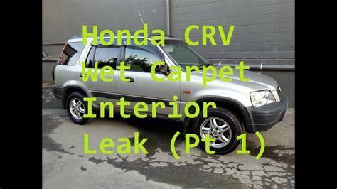 Karpet Honda Crv honda crv leaking carpet part 1 mikeynz