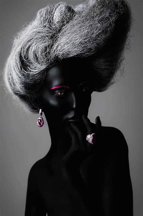 create hair sculptures black make up art from russia 6 fubiz media