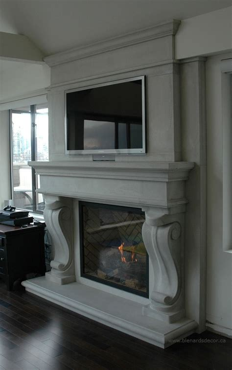 Fireplace Designs With Stone fireplace mantels surrounds in vancouver bc by blenard s