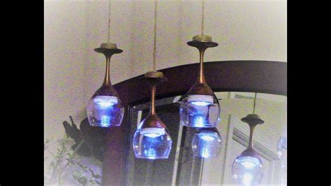 Diy Glass Chandelier Dollar Tree Diy Highend Dupe Modern Farmhouse Chic Wine Glass Chandelier My Crafts And Diy