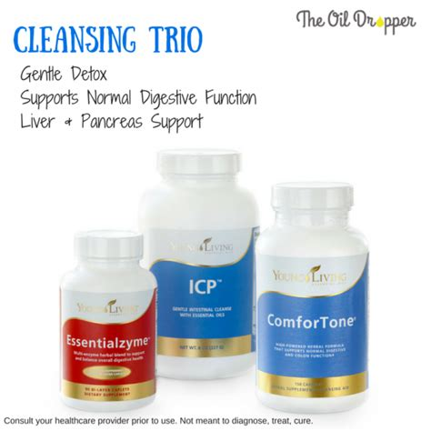 On Detox Trio by Time To Get Rid Of My Cookie Belly The Dropper