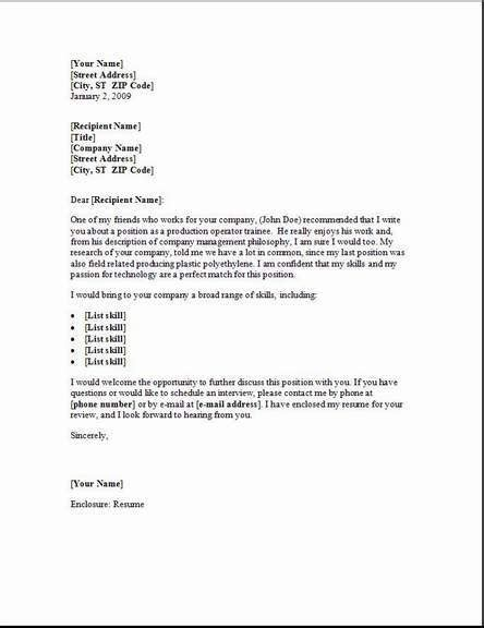 material handler cover letter occupational exles
