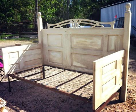 headboards made out of doors a homemade day bed made out of doors tips etc
