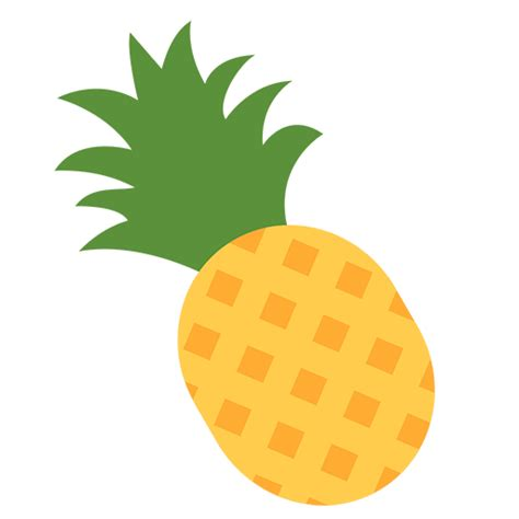 tropical drink emoji pineapple emoji for facebook email sms id 7557