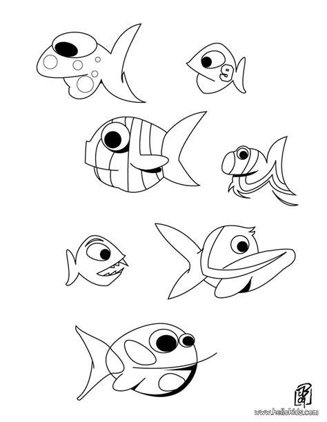 coloring conjuntos fische zum ausmalen zum ausmalen de hellokids com