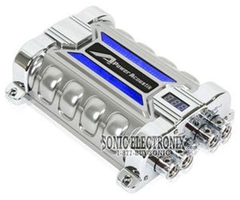 5 farad power acoustik capacitor power acoustik pcx 30f 30 0 farad digital hybrid capacitor