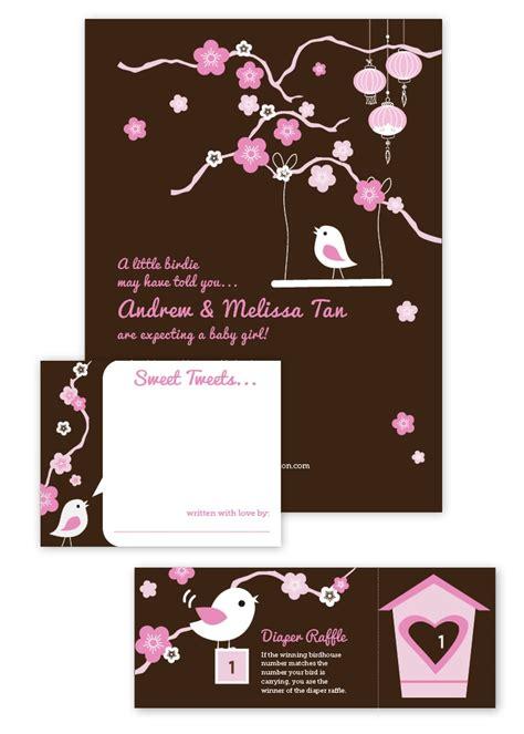 Cherry Blossom Baby Shower by Cherry Blossom And Bird Baby Shower Invitation Advice